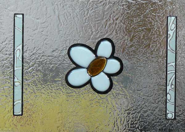 Vidrios decorados fusing cuarterones