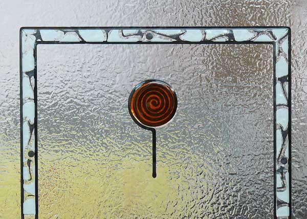 Cristal para puerta fusing perfilado cuarterones