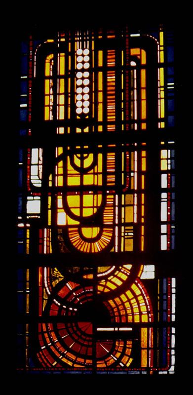 Diseño de vidrieras de hormigón