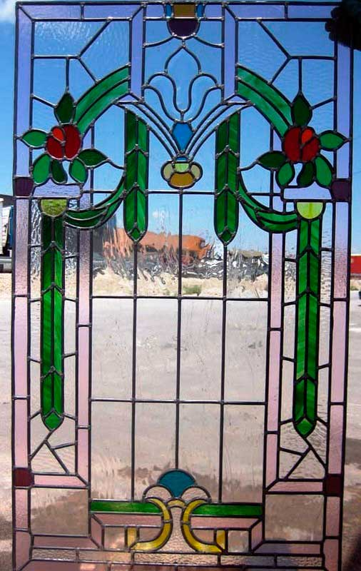 Diseño de vidrieras emplomadas