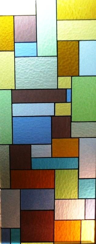 Fabricación de vidrios Tiffany