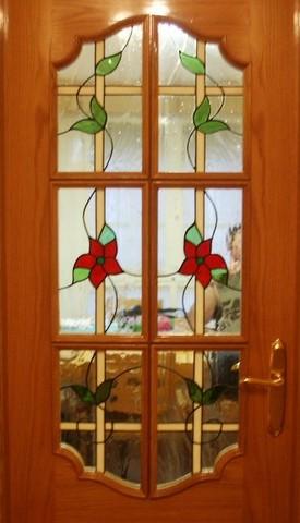 Vidriera Tiffany puerta