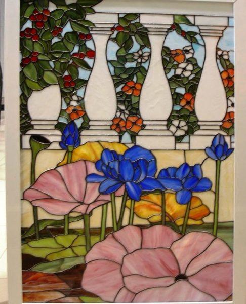 Diseño de vidrieras de Tiffany