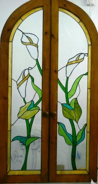 Vidriofusión: diseño vidrieras Tiffany