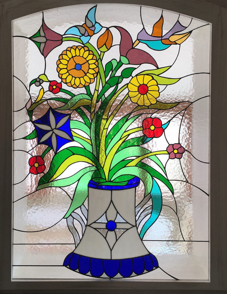 Diseño vidrieras Tiffany