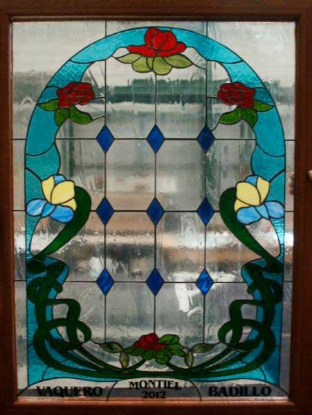 Restauración de vidrieras Tiffany