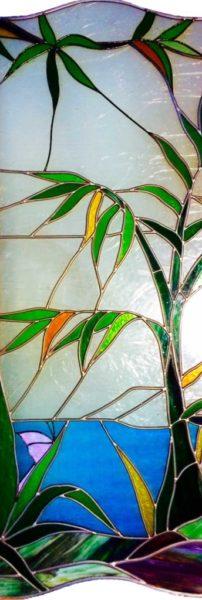 Diseño de vidrieras de plomo