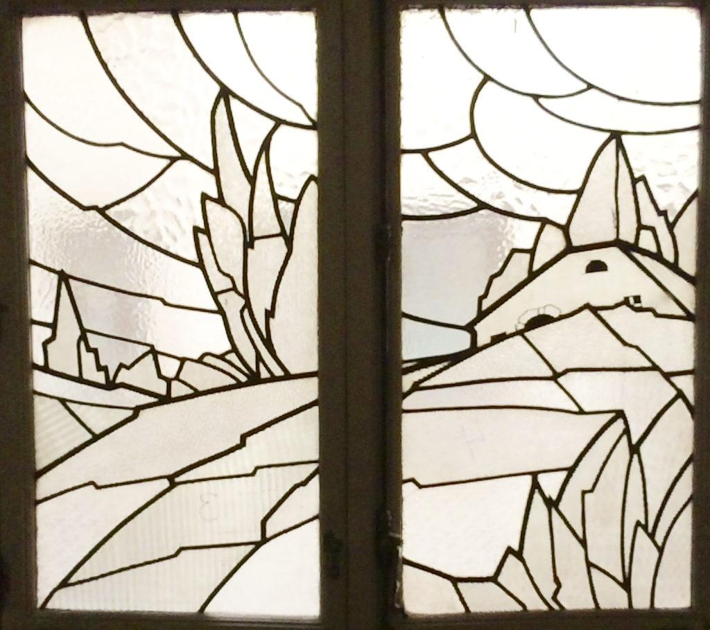 Restauración de vidrieras de plomo