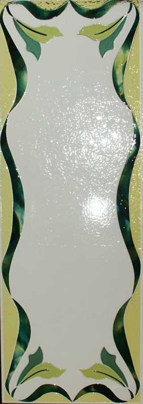 Cristal para puerta fusing termoformado cristal completo