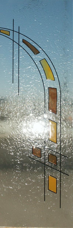 Cristales para puertas fusing