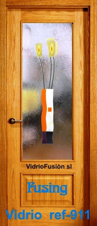 Cristal puerta fusing