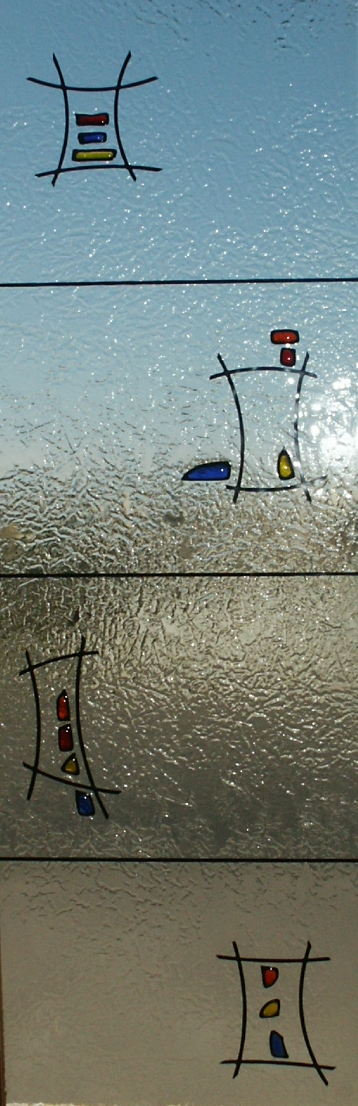 Vidrios fusing perfilados cristal completo