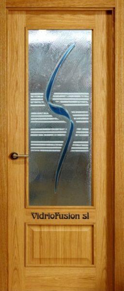 Cristal para puerta fusing termoformado