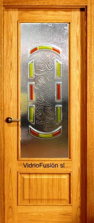 Vidrios decorados fusing termoformado