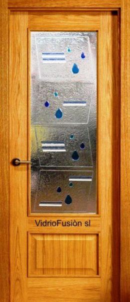 Cristales para puertas fusing termoformado