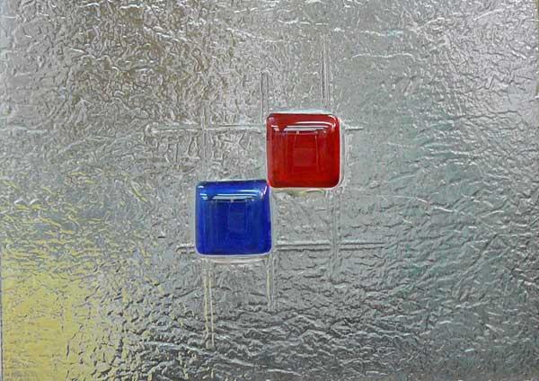 Vidrieras fusing termoformado cuarterones