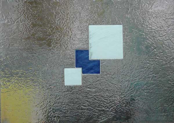 Cristal puerta fusing termoformado cuarterones