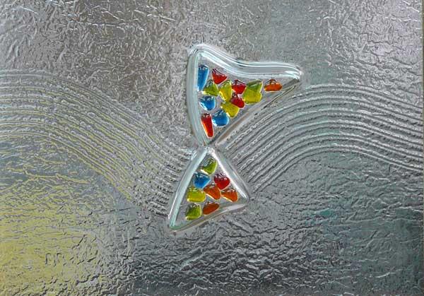 Cristales fusing termoformado cuarterones