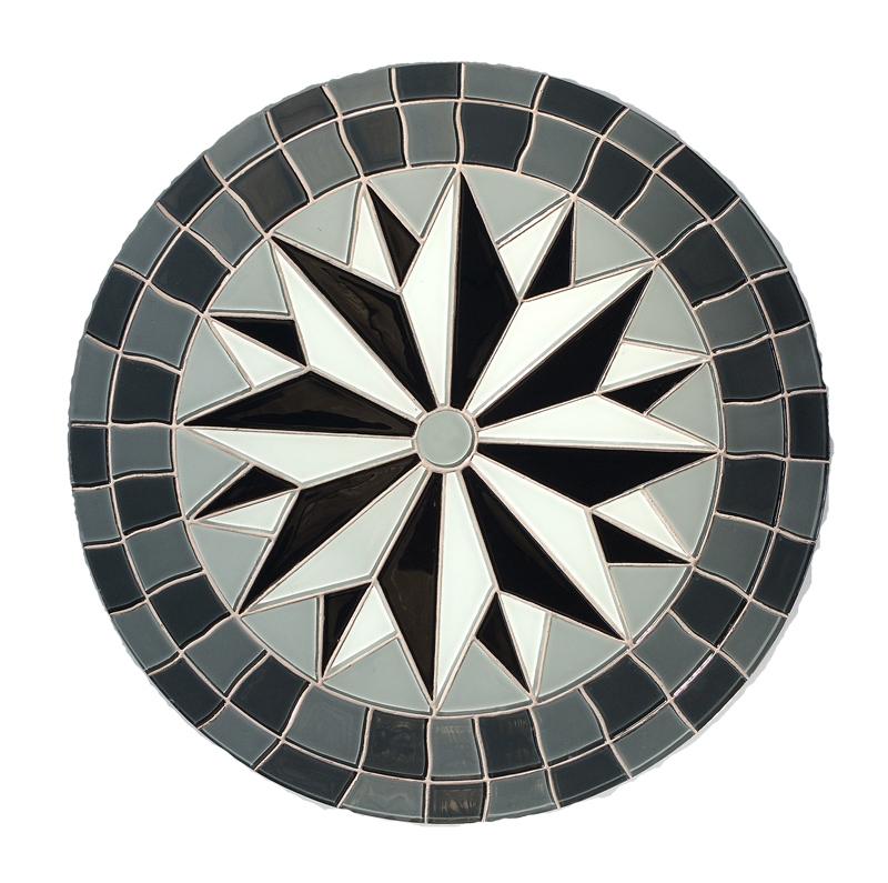Fabricación de mosaicos de vidrio