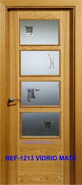 Cristal para puertas resina cordón transparente cuarterones