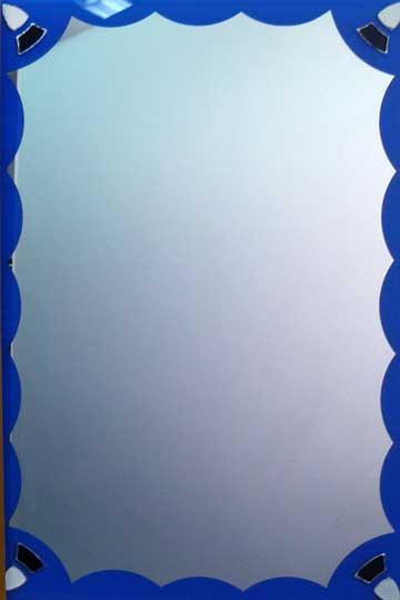 Espejos decorados resina