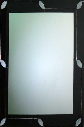 Espejos decorados con resina