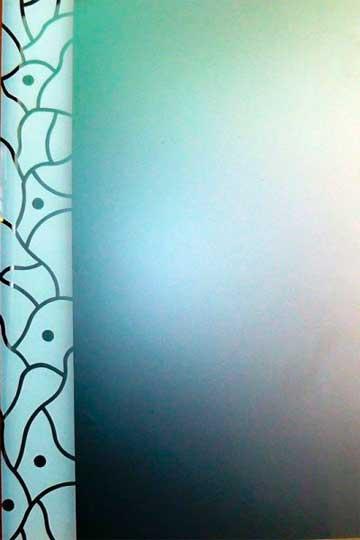 Espejo decorado lacado