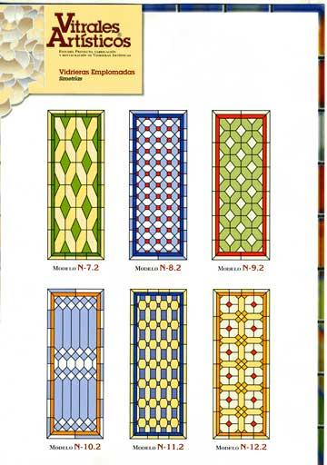 Modelos de vidrieras Plomo 1