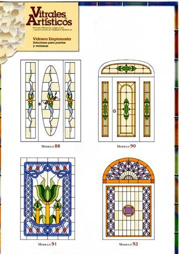 Modelos de vidrieras Plomo 2