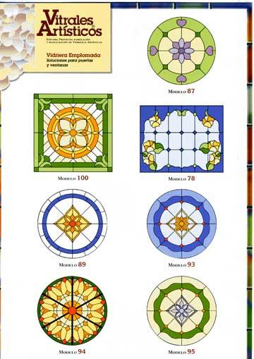 Modelos de vidrieras Plomo 3