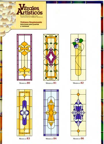 Modelos de vidrieras Plomo 5