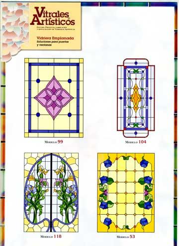 Modelos de vidrieras Plomo 6