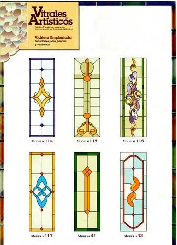Modelos de vidrieras Plomo 8