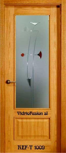 Cristales para puertas resina cordón transparente