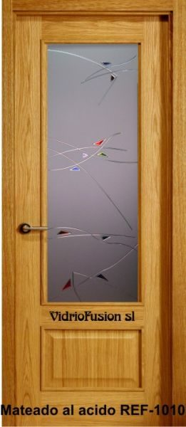 Cristal para puerta resina cordón transparente