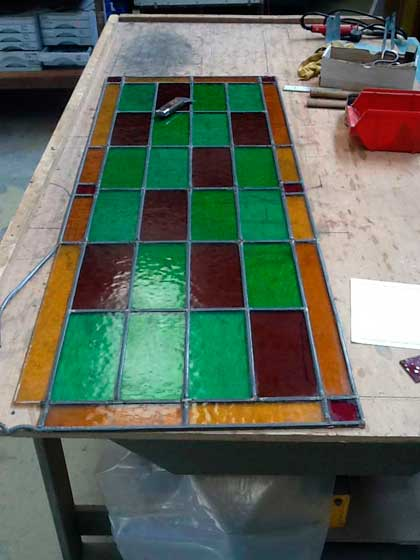 Restauración y reparación de vidrieras en Madrid